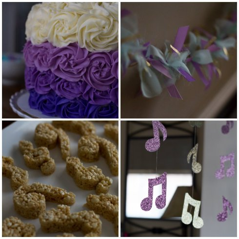 Music Themed Baby Shower - The Lovely Lantern